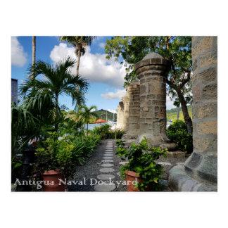 Postal Astillero de Antigua - de Nelson