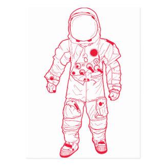 Postal Astronauta