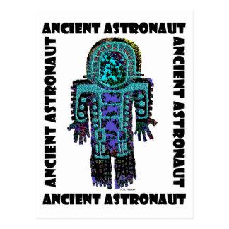 Postal Astronauta antiguo