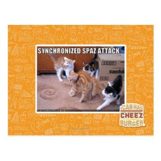 Postal Ataque de Sychronized Spaz