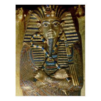 Postal Ataúd íntimo de Tutankhamun