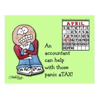 Postal ¡aTAX del pánico!