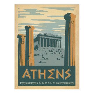 Postal Atenas, Grecia
