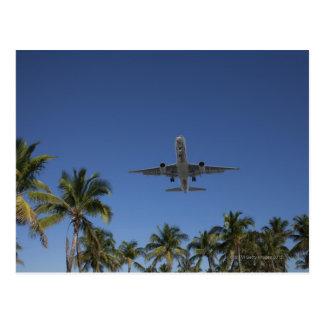 Postal Aterrizaje de aeroplano en Miami