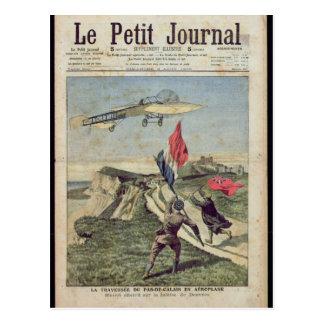 Postal Aterrizaje de Louis Bleriot en Dover