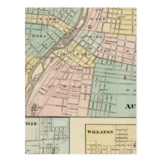 Postal Aurora, Naperville y Wheaton
