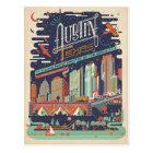 Postal Austin, Tejas - AKA: Ciudad del palo