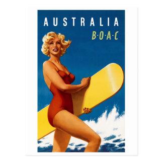 Postal Australia - BOAC