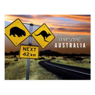 Postal Australia impresionante
