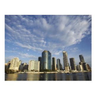 Postal Australia, Queensland, Brisbane, rascacielos y