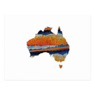 POSTAL AUSTRALIA TAN EXTENSA