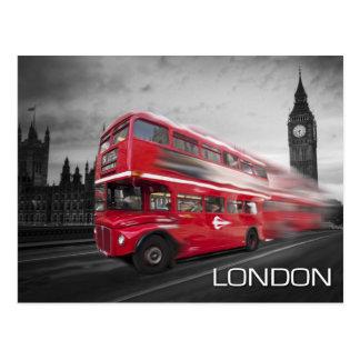 Postal Autobús de Big Ben Londres