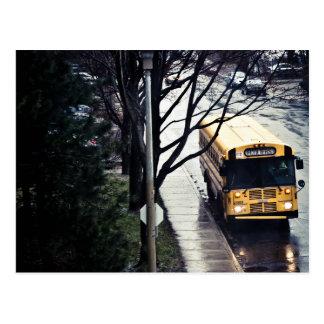 Postal Autobús escolar
