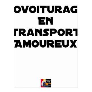 Postal AUTOESTOP ORGANIZADO EN ARREBATO DE AMOR - Juegos
