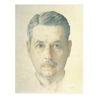 Postal Autorretrato, 1921