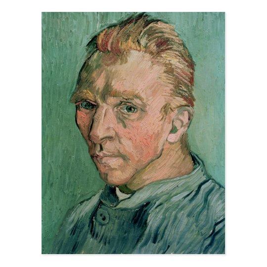 Postal Autorretrato de Vincent van Gogh el  , 1889