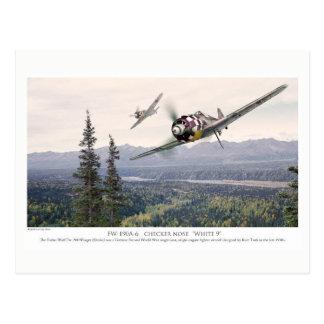 """Postal Aviation Art Postcard """"Focke-Wulf Fw 190"""""""
