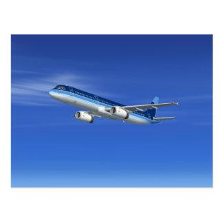 Postal Aviones del avión de pasajeros del jet A321