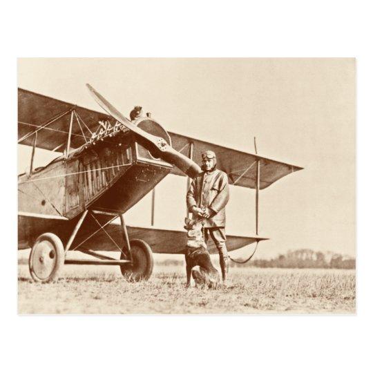Postal Aviones del vintage