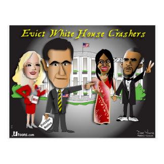 Postal Aviso del desahucio de Romney