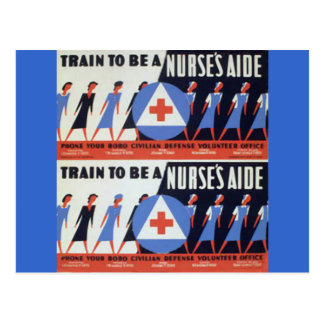 Postal Ayuda de las enfermeras