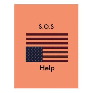 Postal Ayuda de S.O.S