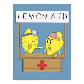 Postal Ayuda del limón