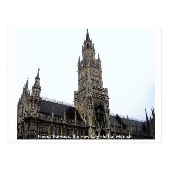 Postal Ayuntamiento Munich