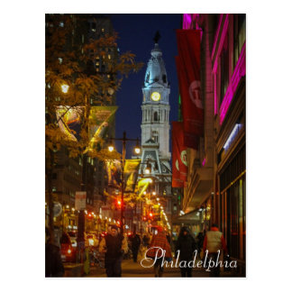 Postal Ayuntamiento, Philadelphia