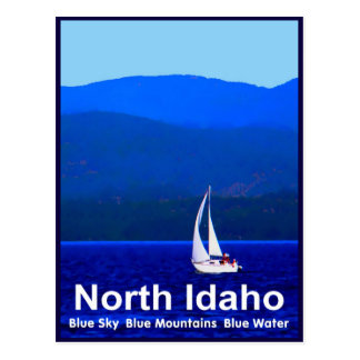 Postal Azul del norte de Idaho