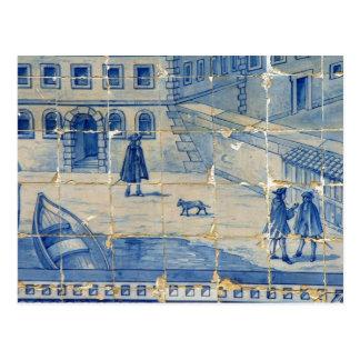 Postal Azulejo