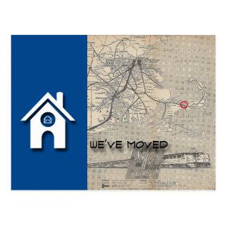 Postal B hemos movido el mapa de la casa substituimos por