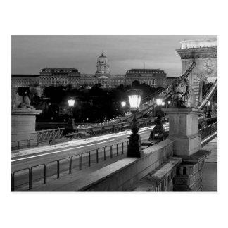Postal B&W Budapest