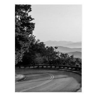 Postal B&W Great Smoky Mountains 2