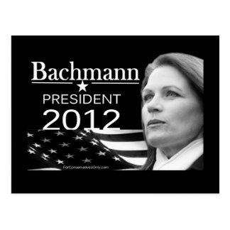 Postal Bachmann para el presidente
