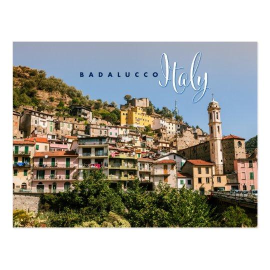 Postal Badalucco Italia