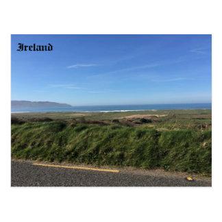 Postal Bahía de Brandon, punto de Brandon, Kerry, Irlanda