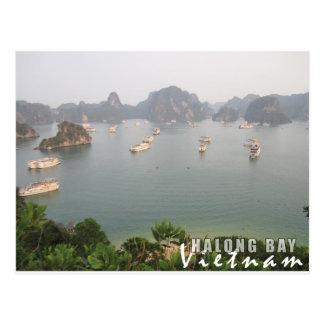 Postal Bahía de Halong, Vietnam