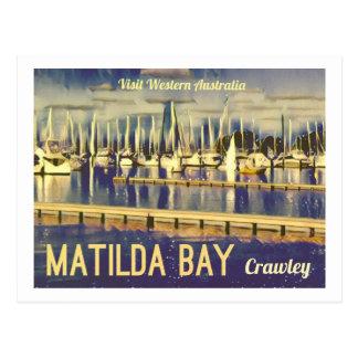 Postal bahía de Matilda del Vintage-estilo, Australia del
