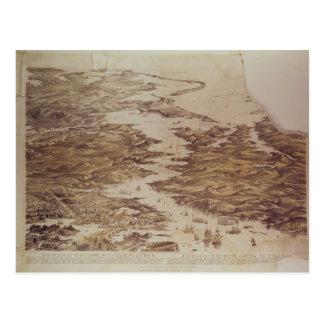 Postal Bahía de Nicolaieff y de Kerson, Odessa y Perekop
