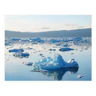 Postal Bahía del iceberg