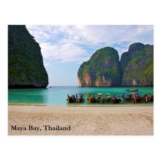 Postal Bahía del maya, Tailandia