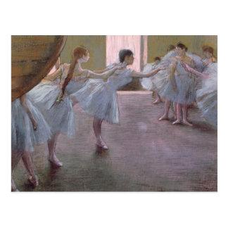Postal Bailarines de Edgar Degas el   en el ensayo,