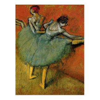 Postal Bailarines de Edgar Degas el   en la nueva