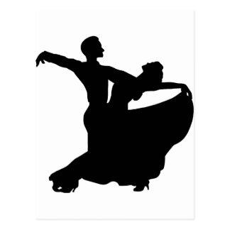 Postal Baile de salón de baile