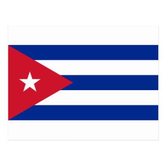 Postal ¡Bajo costo! Bandera de Cuba