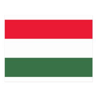 Postal ¡Bajo costo! Bandera de Hungría