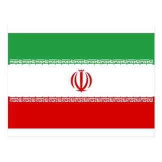 Postal ¡Bajo costo! Bandera de Irán