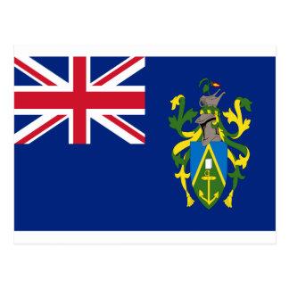 Postal ¡Bajo costo! Bandera de las islas de Pitcairn