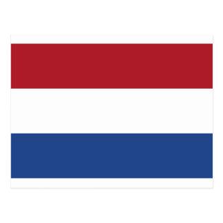 Postal ¡Bajo costo! Bandera holandesa